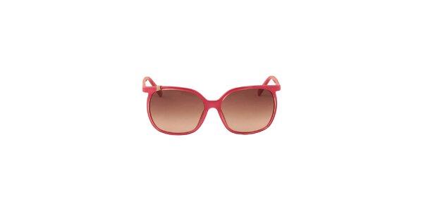 Dámské růžové sluneční brýle Calvin Klein