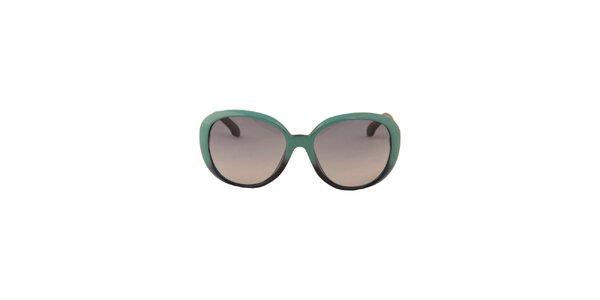 Dámské tyrkysové sluneční brýle