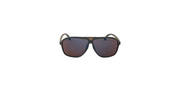 Dámské modrozelené sluneční brýle Calvin Klein