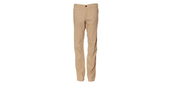 Pánské světle béžové chino kalhoty Bendorff