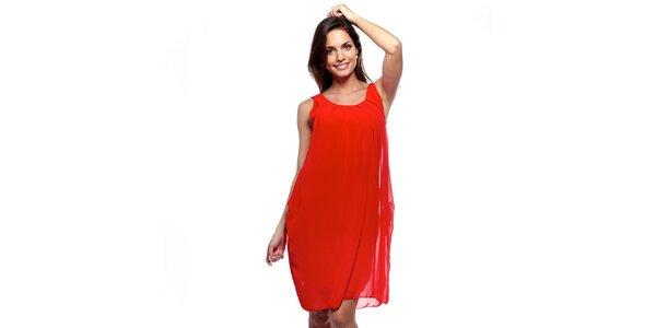 Dámské červené šaty Trois Quatorze