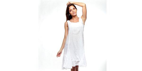 Dámské bílé šaty Trois Quatorze