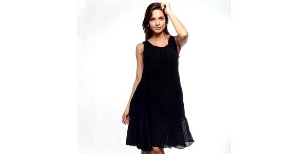 Dámské černé šaty Trois Quatorze