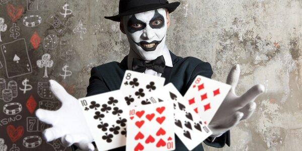Úniková hra z hororového kasina pro 4 osoby