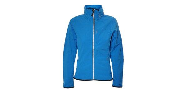 Dámská azurově modrá softshellová bunda Trimm