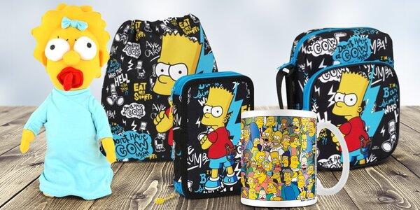 Oficiální kolekce 21 předmětů The Simpsons