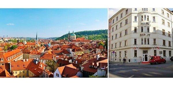 Ubytování v hotelu Esprit*** Praha pro dvě osoby na jednu noc se snídaní