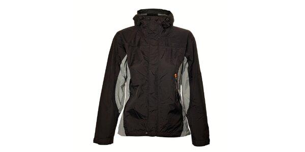 Dámská černo-šedá lehká nepromokavá bunda Trimm