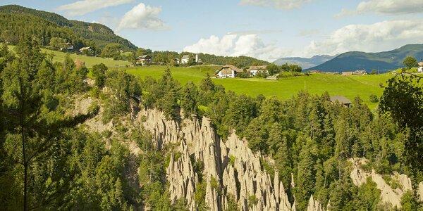 Pobyt v italské provincii Trento s polopenzí