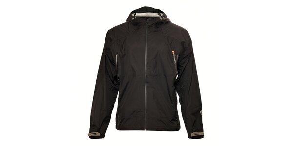 Lehká černá nepromokavá bunda Trimm