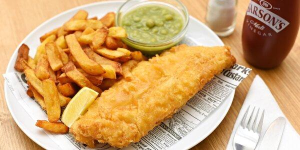 Originální britské fish & chips v OC Chodov
