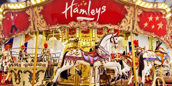 Rok zábavy: zlatá karta na atrakce v Hamleys