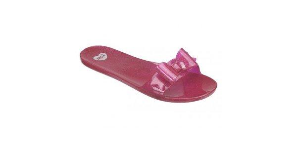 Růžové pantofle Mel