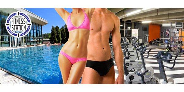 10 vstupů do bazénu, 10× fitness a 500 Kč na solárium