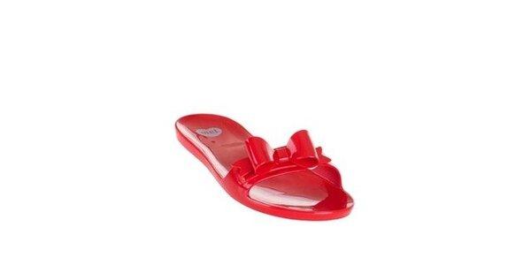 Červené pantofle Mel