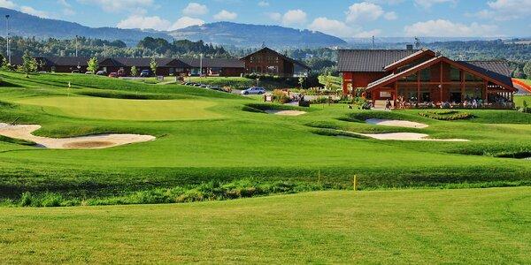 Pobyt v Beskydech s neomezeným golfem a snídaní