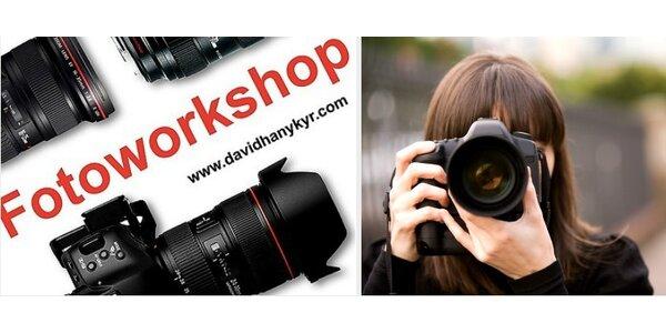 Fotoworkshop - 4 hodinový outdoor fotoworkshop v centru Prahy