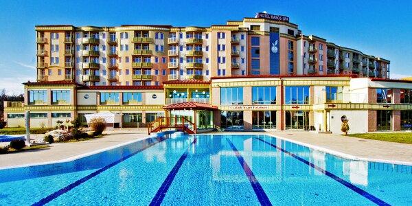 Maďarský Zalakaros: polopenze, bazény a sauny