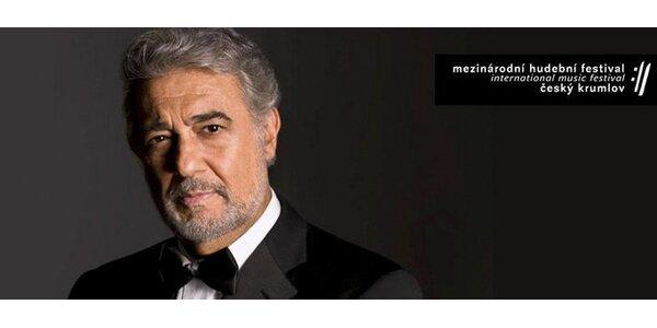 540 Kč za galakoncert legendárního operního zpěváka Plácida Dominga!