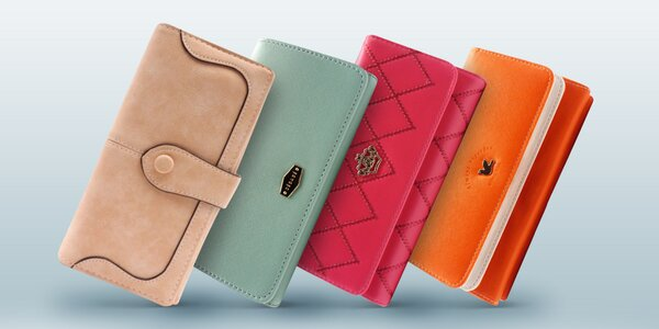 Elegantní dámské peněženky