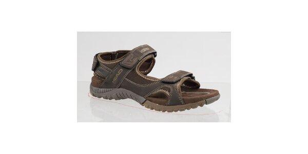 Hnědé outdoorové sandále Head