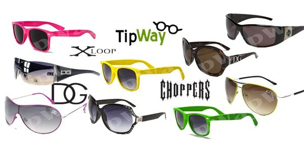 149 Kč za slevový kupon na sluneční brýle kvalitních amerických značek!