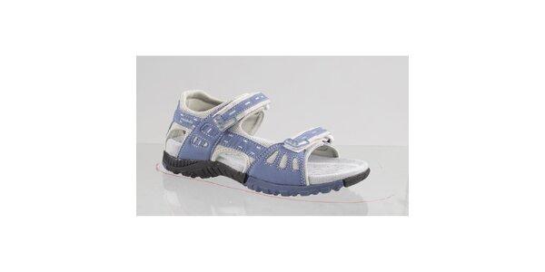 Dámské šedo-modré outdoorové sandále Head