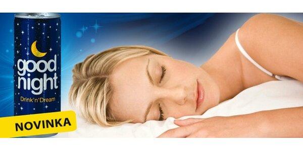 99 Kč za 5 relaxačních nápojů Good Night® pro kvalitnější spánek