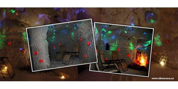 99 Kč za DVĚ návštěvy solné jeskyně v Lázeňském domu Morava