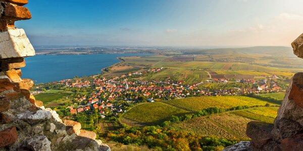 Jaro mezi vinicemi: wellness i Aqualand Moravia