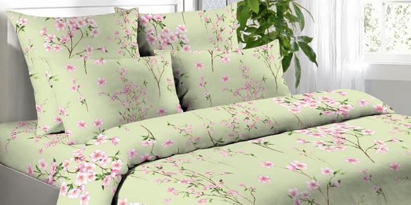 Bavlněná povlečení v květinových vzorech