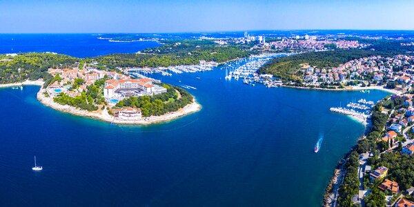 5 nebo 7 nocí na Istrii až pro pět osob
