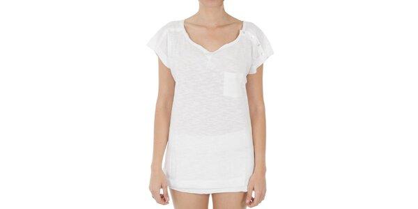 Dámské dlouhé bílé tričko s knoflíčky Women'Secret