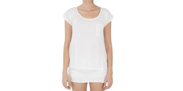 Dámské bílé tričko s kapsičkou Women'Secret