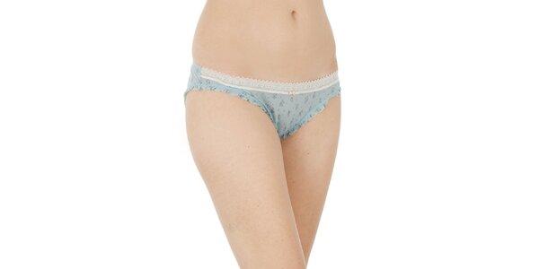 Dámské světle modré transparentní kalhotky Women'Secret