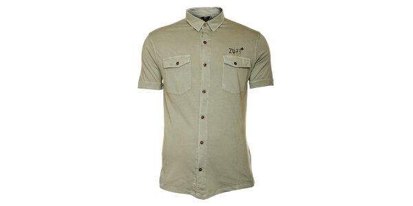 Pánská šedivá košile ZU elements