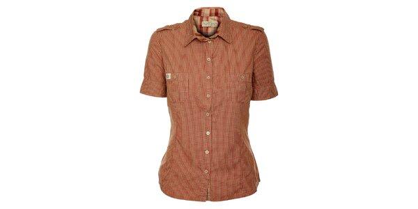 Dámská červeně károvaná košile ZU elements