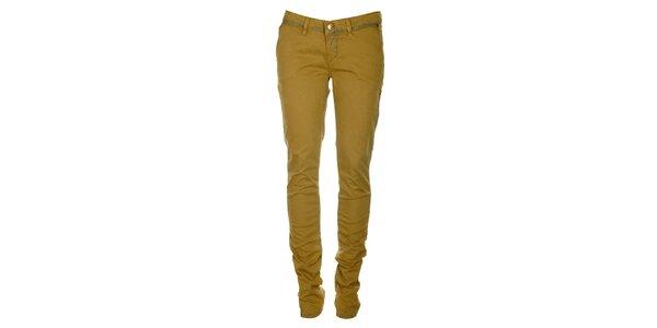 Dámské okrové skinny džíny ZU elements