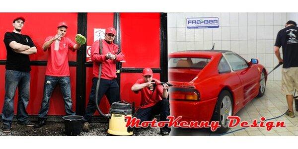149 Kč za ruční mytí vašeho vozidla včetně luxování celého interiéru!