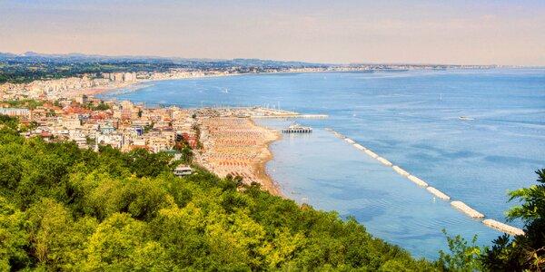 Itálie: 3* hotel s polopenzí, 100 m od pláže