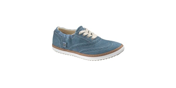 Dámské modré boty Caterpillar