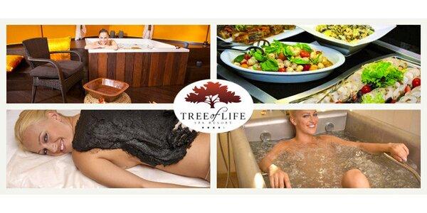 Luxusní lázeňský resort Tree of Life - pobyt plný hýčkání pro dva