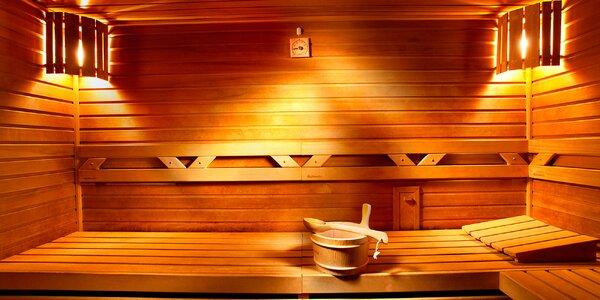 Hodina v privátní parní či finské sauně