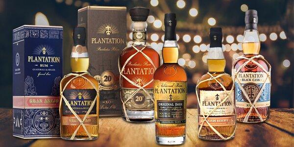 Ochutnejte kvalitu: karibské rumy Plantation