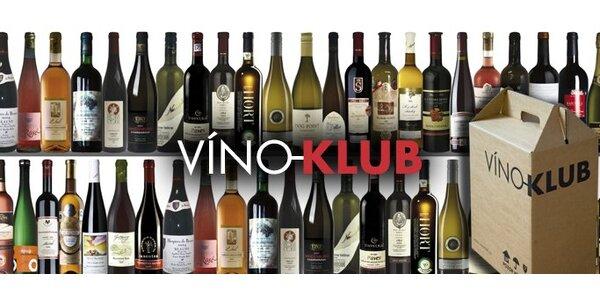 299 Kč za poukaz na nákup vín v hodnotě 600 Kč ve vinotéce Víno-klub.cz!