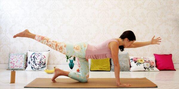 10x 60 nebo 90 min. jógy: výběr z různých stylů