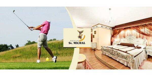 All inclusive víkendový pobyt s golfem pro dva