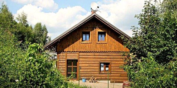 Jaro i léto v Jizerkách v chalupě až pro 13 osob