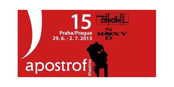 3 vstupenky nebo permanentka na festival Apostrof v Praze