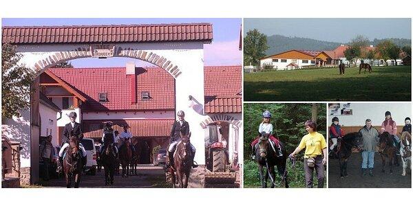 Letní dětský tábor u koní! V krásné přírodě nedaleko Prahy